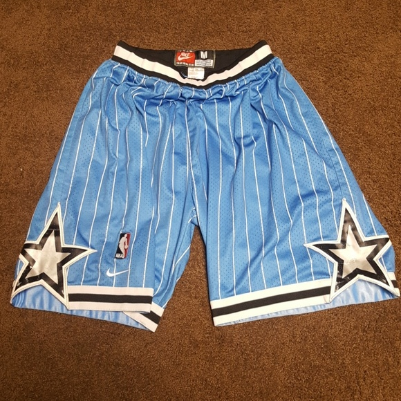 41705de5683 Orlando Magic vintage Nike basketball shorts SZ m.  M 5b061024077b9779f5053039